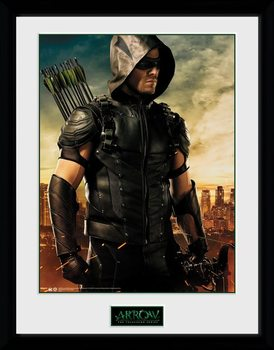 Framed poster Arrow - Oliver