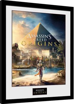 Framed poster Assassins Creed: Origins - Cover