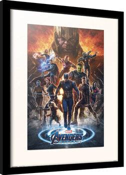 Framed poster Avengers: Endgame