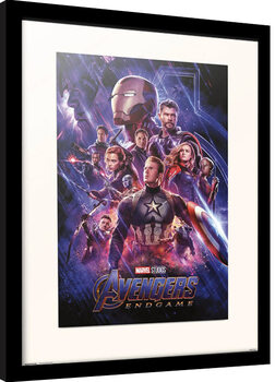 Framed poster Avengers: Endgame - One Sheet