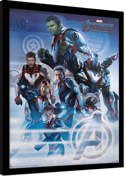 Avengers: Endgame - Quantum Realm Suits Framed poster