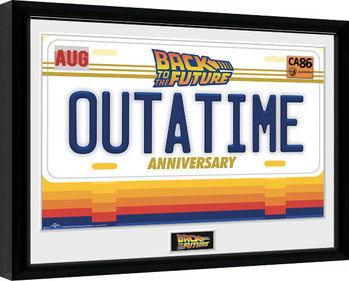 Back To The Future - 35th Outatime Framed poster