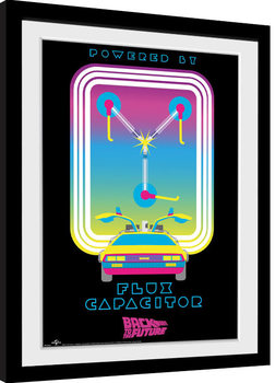 Framed poster Back To The Future - Flux Capacitor