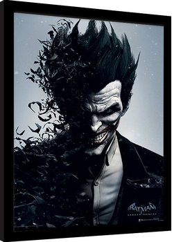 Batman: Arkham Origins - Joker Framed poster