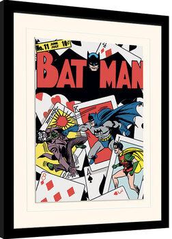 Framed poster Batman - Card Clash