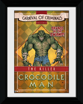Batman Comic - Circus Crocodile plastic frame