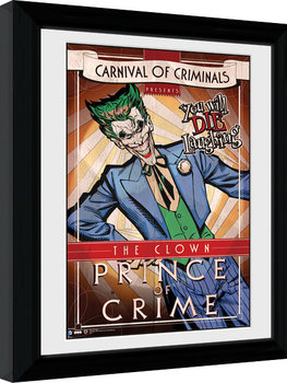Batman Comic - Circus Joker Framed poster