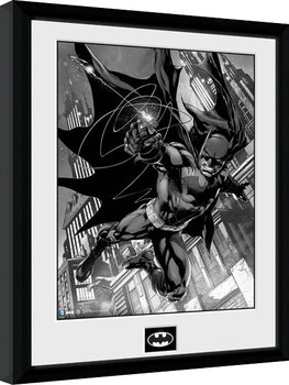 Batman Comic - Hook Framed poster