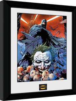 Batman Comic - Joker Defeated Framed poster