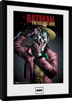 Batman Comic - Kiling Joke Portrait Framed poster