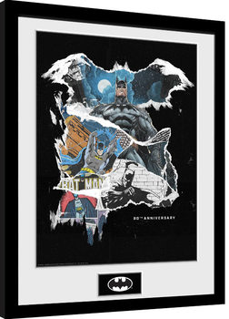 Batman - Comic Rip Framed poster