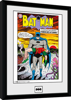 Batman Comic - Robin Dies At Dawn Framed poster