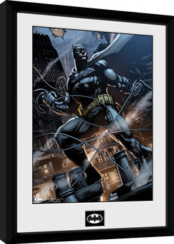 Batman Comic - Rope Framed poster
