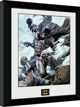 Batman Comic - Scarecrow Framed poster