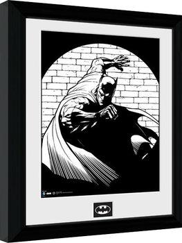Batman Comic - Spotlight Framed poster