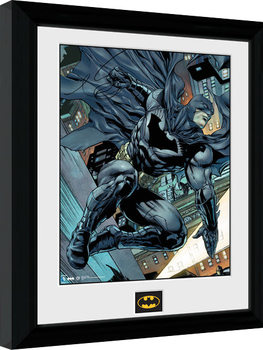 Batman Comic - Swing Framed poster