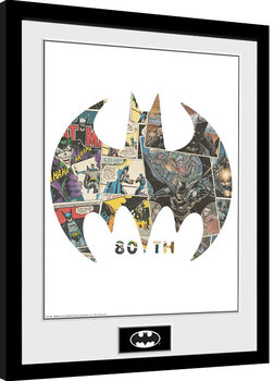 Batman - Comic Symbol Framed poster