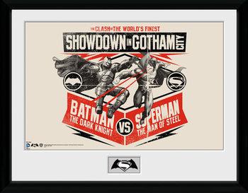 Batman Vs Superman - Battle plastic frame