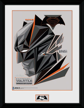 Batman Vs Superman - Volatile plastic frame