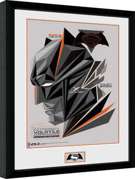 Batman Vs Superman - Volatile Framed poster