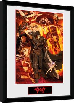 Beserk - Collage Framed poster