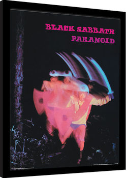 Black Sabbath - Paranoid Framed poster