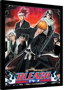 Framed poster Bleach - Chained