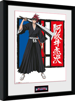 Bleach - Renji Framed poster