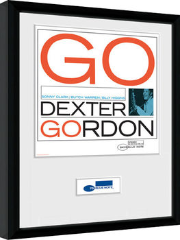 Blue Note - Dexter Framed poster