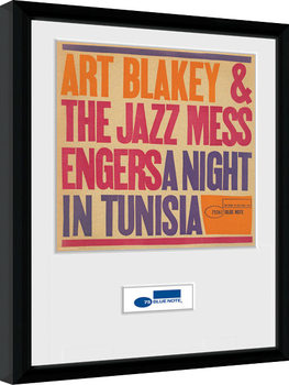 Framed poster Blue Note - Tunisia