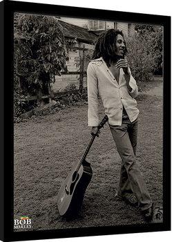 Framed poster Bob Marley - Vintage
