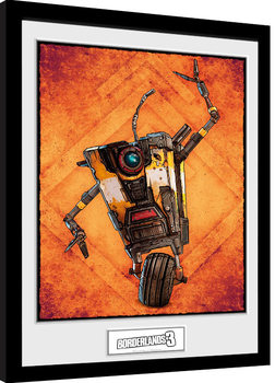 Borderlands 3 - Claptrap Framed poster