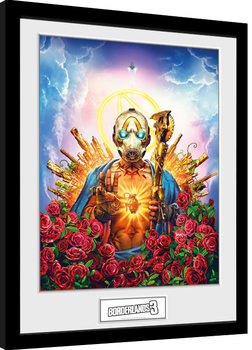 Framed poster Borderlands 3 - Cover