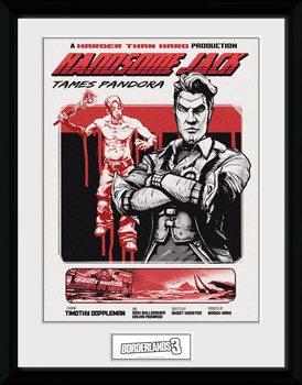 Borderlands 3 - Handsome Jack Framed poster