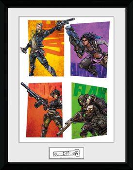 Borderlands 3 - Hunters Framed poster