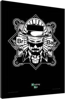 BREAKING BAD - obey heisenberg Framed poster