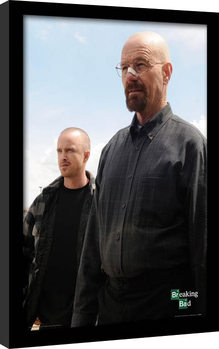 BREAKING BAD - walter & jesse Framed poster
