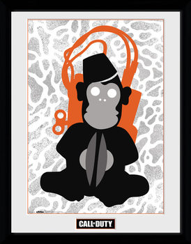 Call Of Duty - Monkey Bomb Framed poster