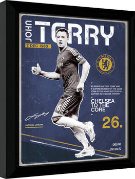 Chelsea - Terry Retro Framed poster