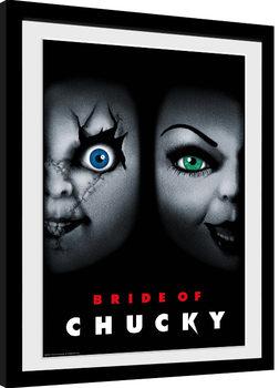 Framed poster Chucky - Bride of Chucky