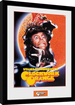 Clockwork Orange - Key Art Orange Framed poster