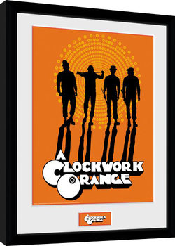 Clockwork Orange - Silhouettes Framed poster