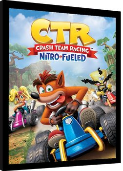 Crash Team Racing - Race Framed poster
