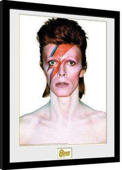 David Bowie - Aladdin Sane Framed poster
