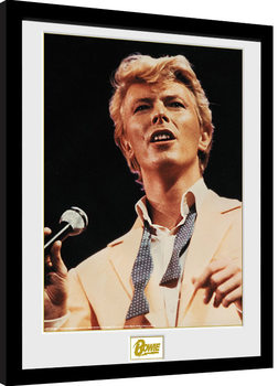 Framed poster David Bowie - Bow Tie