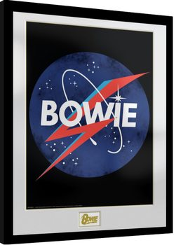 Framed poster David Bowie - NASA