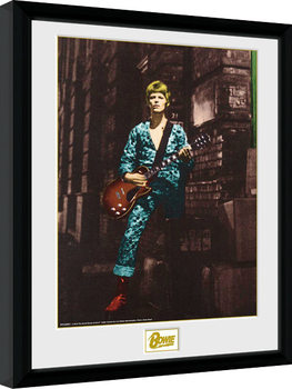 Framed poster David Bowie - Street