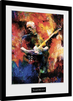 Framed poster David Gilmour - Painting
