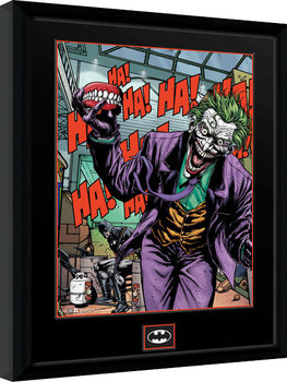 DC Comics - Joker Teeth Framed poster