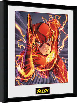 DC Comics - The FLash Justice League Framed poster